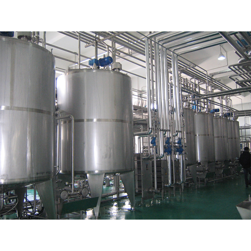 Full Automatic Complete Yogurt Processing Line From a-Z