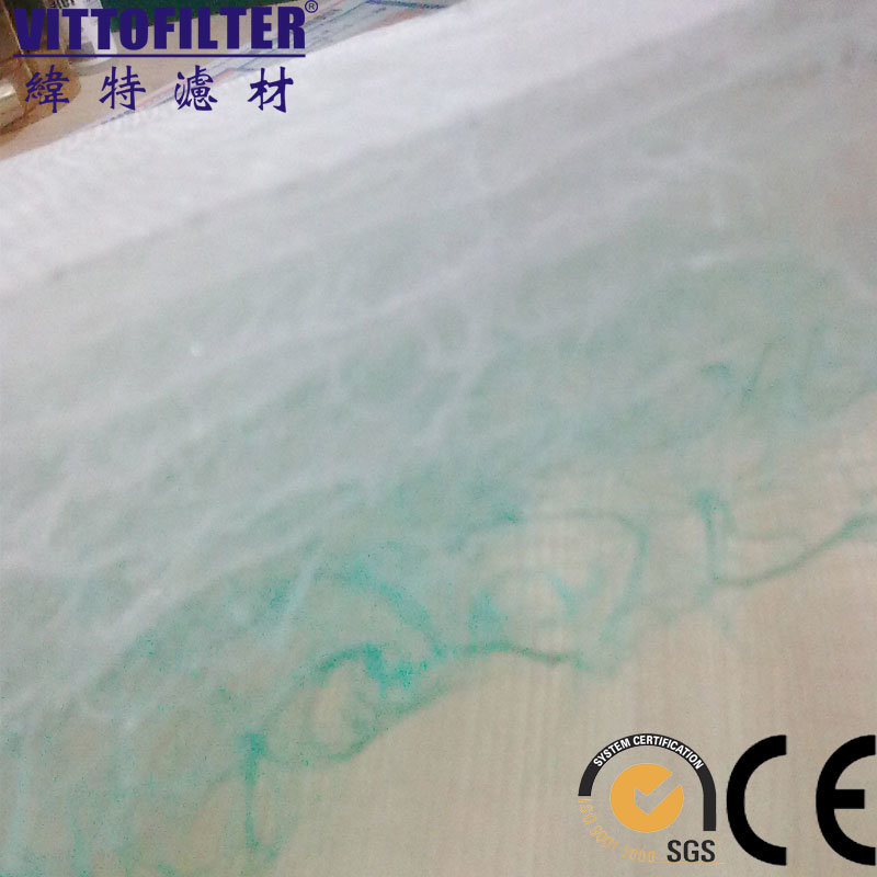 Airy Floor Filter, Spray Booth Glass Fiber Paint Arrestor
