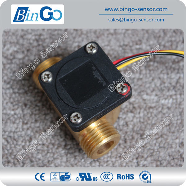 G 1/2′′brass Water Flow Sensor for Drinking Water