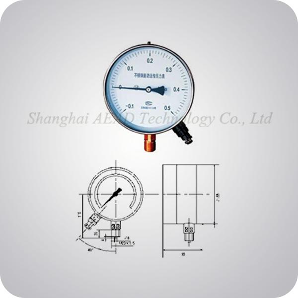Differential Remote Transmitting Pressure Gauge