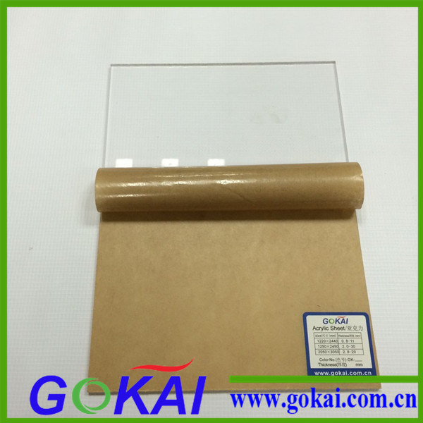 Transparent Cast Type PMMA Acrylic Scrap (1220*2440mm)