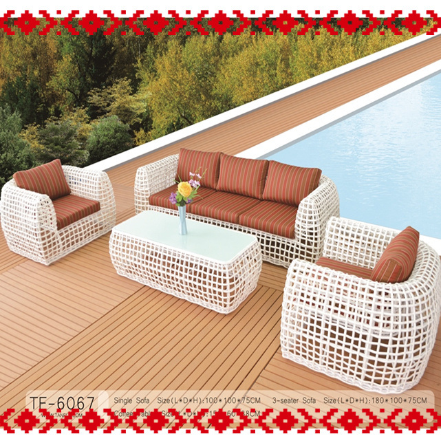 Garden Furniture Leisure Sofa Set for Indoor and Outdoor