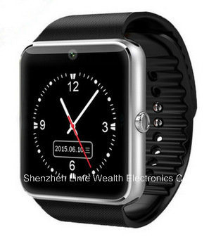 New Gt08 Smartwatch Cheap with SIM Card for Android /Ios Touch Screen