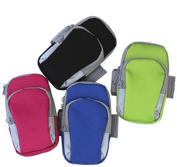 New Products 2016 Running Case Bag for Smartphone Armbands/ Jogging Sports Keys Pouch Arm Wrist Bag Case for iPhone 6/6