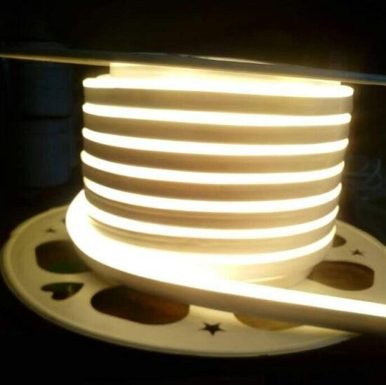 220V/110V/24V/12V SMD2835 Warm White Flex LED Neon