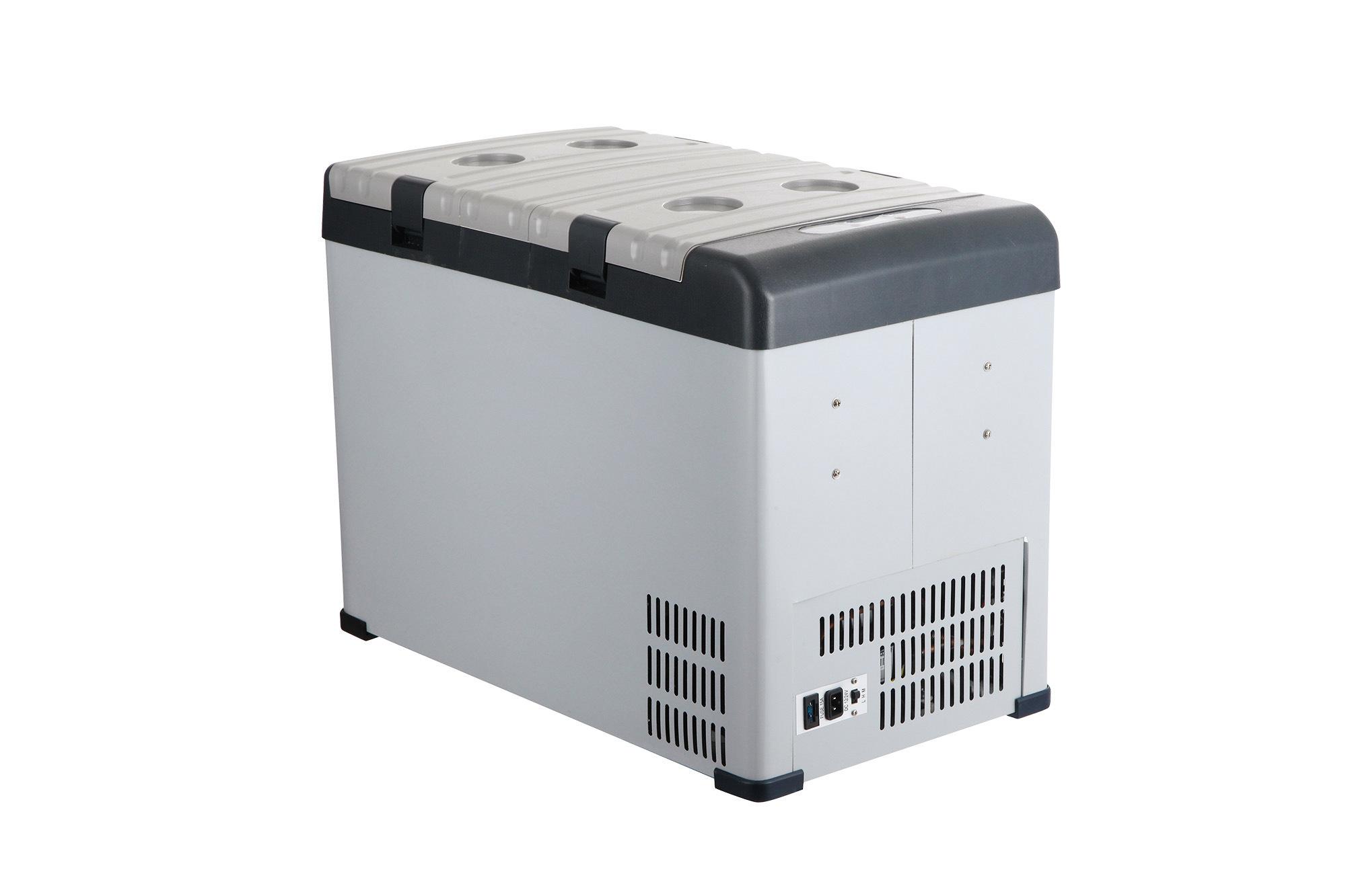 Innovative DC Compressor Refrigerator 42liter DC12/24V with AC Adaptor (100-240V) Both Used in Car or at Home