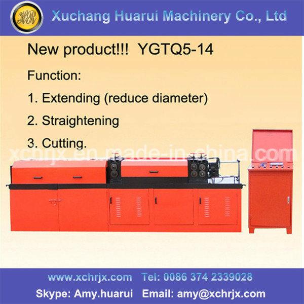 Steel Wire Rod Straightening and Cutting Machine/Straightener and Cutter