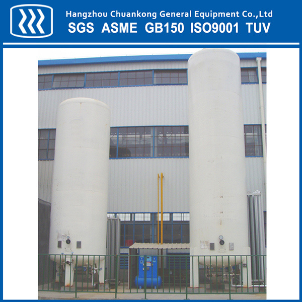 Cryogenic Liquid Oxygen Nitrogen Argon CO2 Stainless Steel Storage Tank
