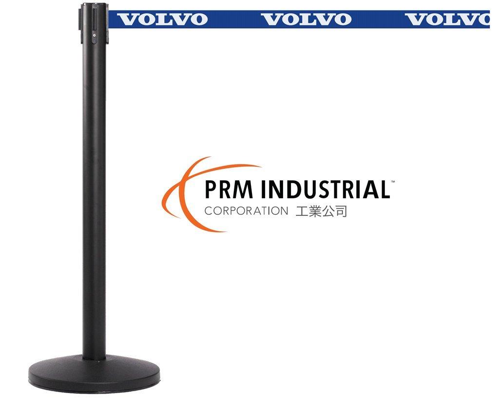 Queuemaster Affordable Steel Powder Coated Retractable Belt Barrrier