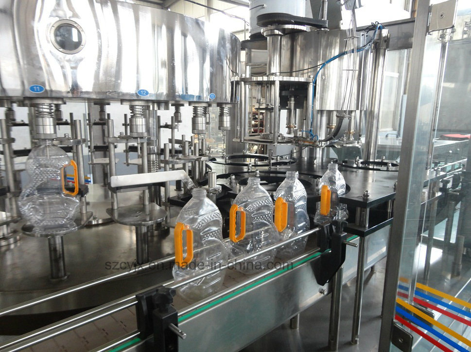Ygf Flower Oil Filling Capping 2 in 1 Machine