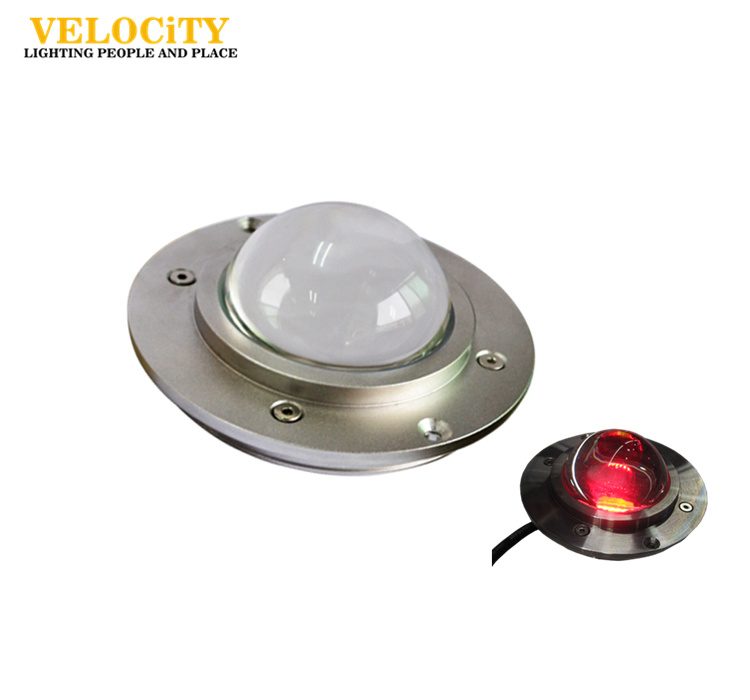 DC12V/DC24V 54W COB DMX512 IP68 RGB Stainless Steel LED Pool Light