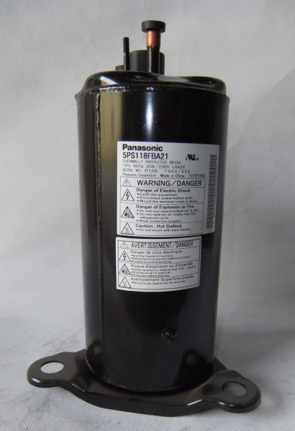R410A 208-230V 60Hz Panasonic AC Rotary Compressor