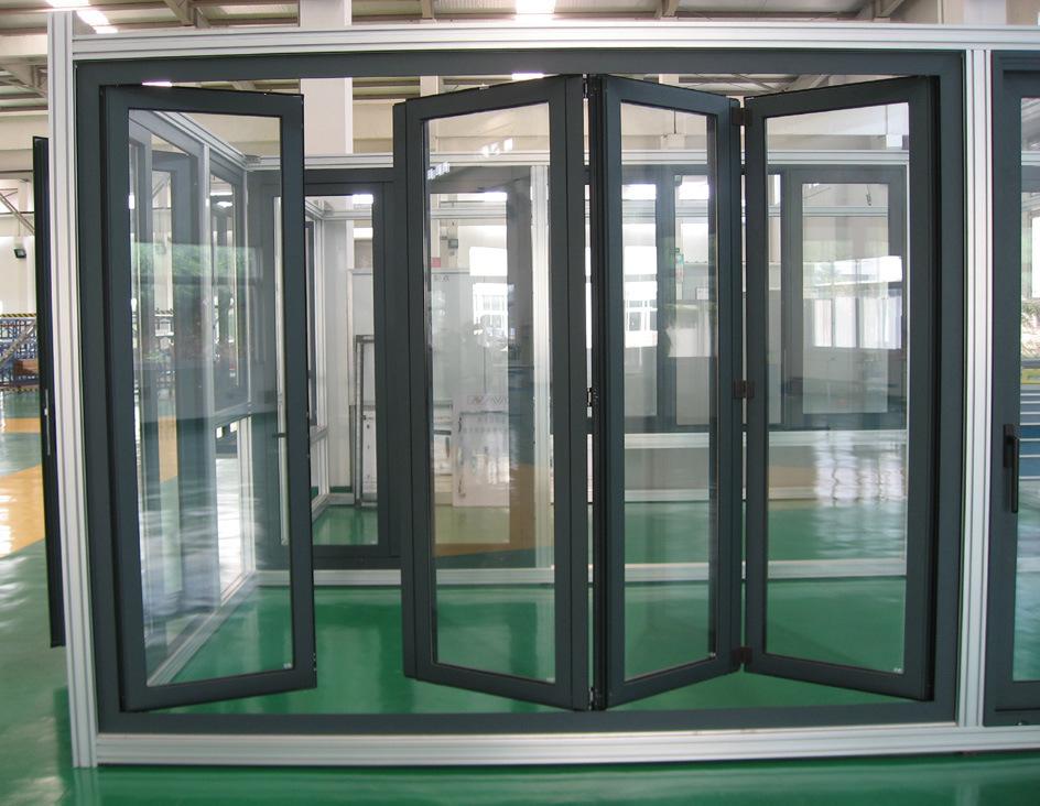 High Quality Thermal Break Aluminum Folding Door K07001