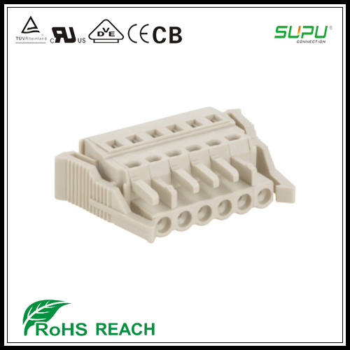 250V 12A Female Terminal Blocks with Locking Device