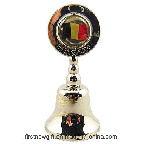 Promotional Gift Laser Logo Oval Key Ring Metal Keychain (F1368)
