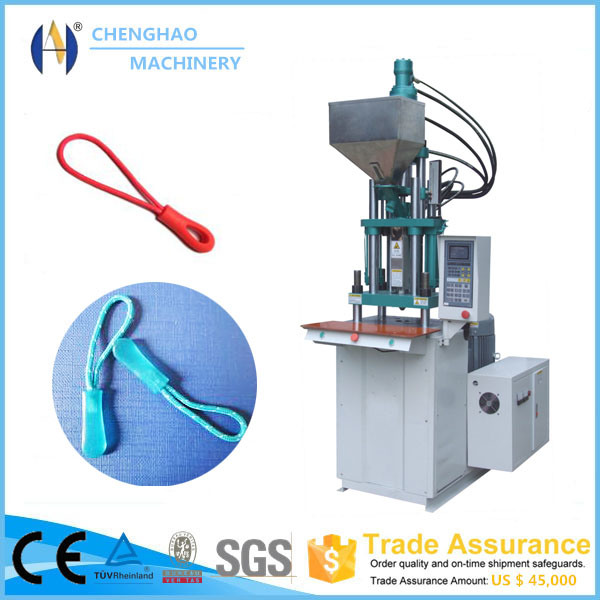 Environmental Zipper Head with Rope Injection Modling Machine