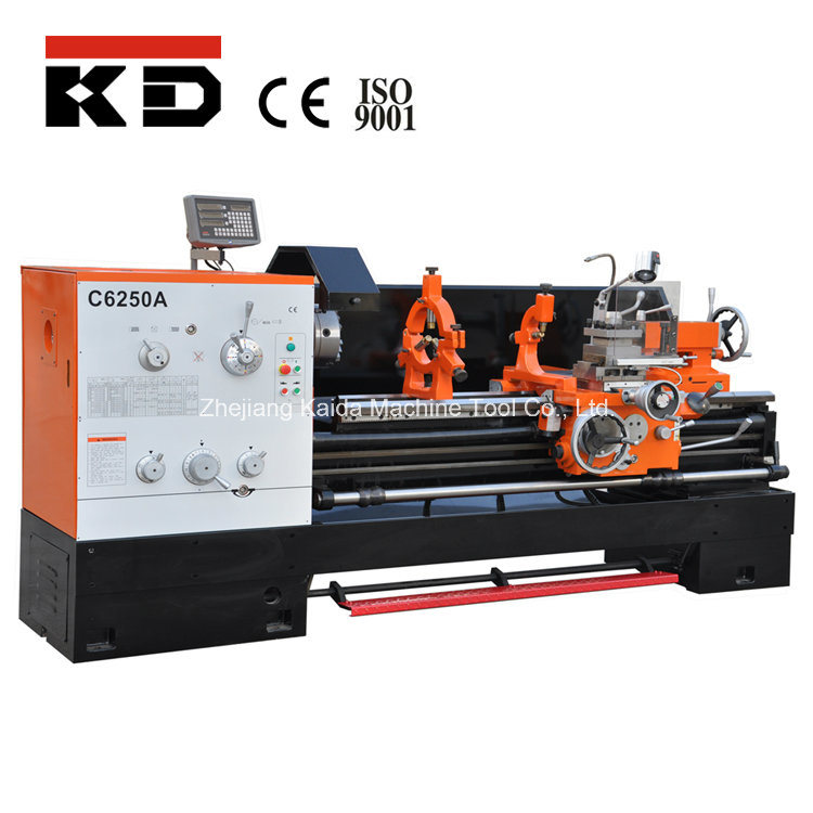 Metal Gap Bed Harden Manual Engine Lathe Machine C6250A