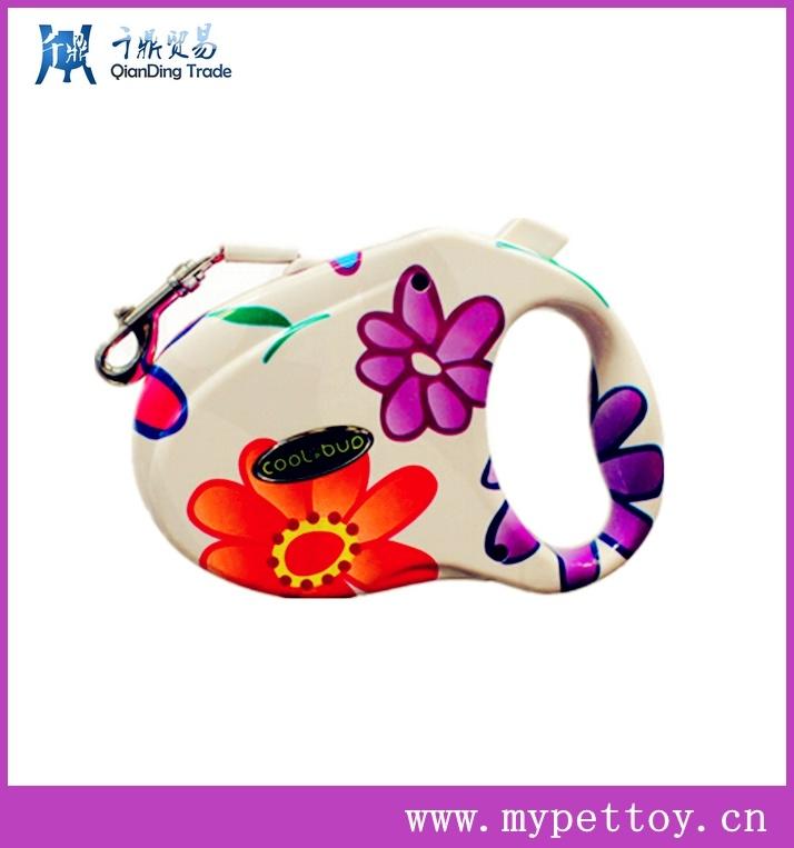 Painting Surface Style Retractable Pet Leash /Nylon Dog Leash