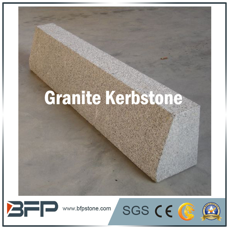 Natural White Granite Kerbstone for Garden or Outdoor Paving