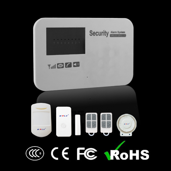 Wireless Home Security GSM Alarm System with Support Android & Ios APP (WL-JT-11G)