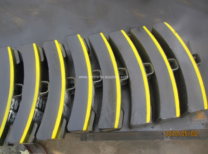 High Speed Rail Brake Block