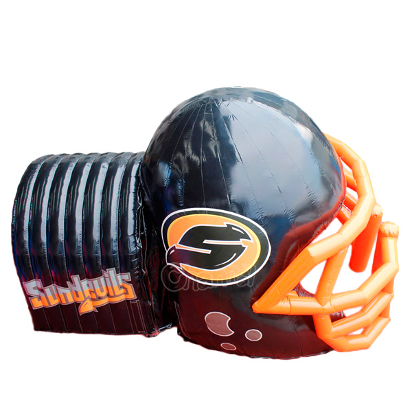 Customized Inflatable Football Helmet Tunnel Chad365