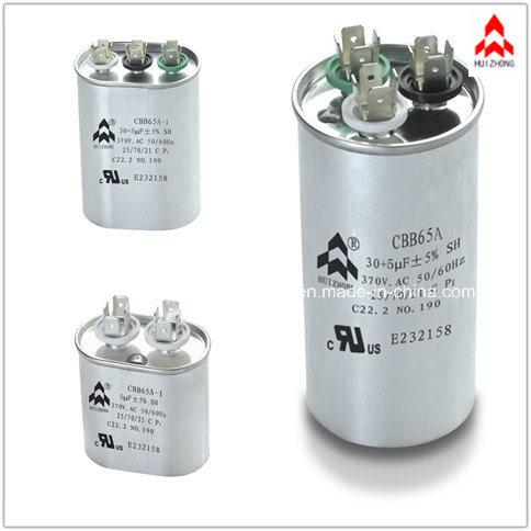 AC Film Cbb65 Capacitor Qualified VDE. UL. CE. TUV. CQC