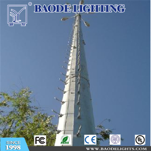 28m Hot-DIP Galvanized Medium-Wave Telecom Q345 Steel Tower (bdtxt-28A)