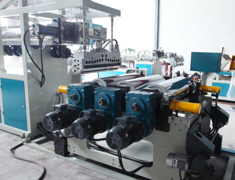 Double Layer Plastic Sheet Extruding Machine for PP PS