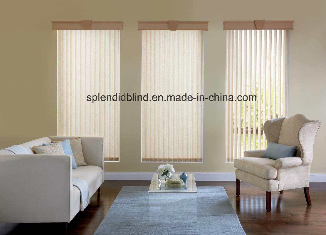 Wand Control Fabrics Vertical Blinds (SGD-V-3123)