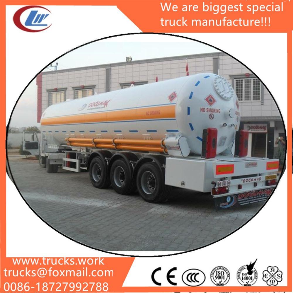 Factory Direct 40000L 45000L 50000L Diesel Oil Fuel Tanker Tank Semi Trailer