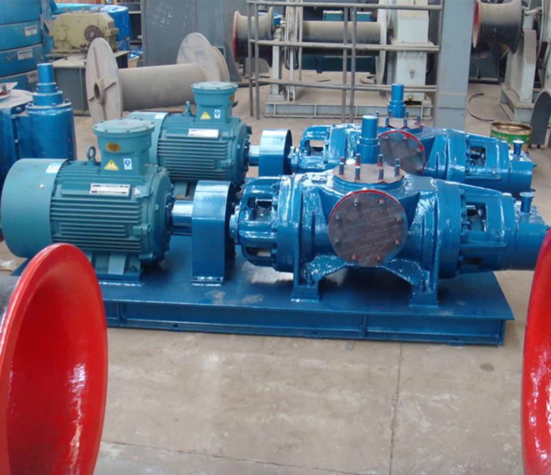 Horizontal Twin Screw Pump Oil Pump