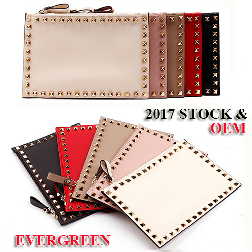 2017 New Style Lady Leather Wallet Women Purse PU Clutch Bags Ladies Designer Bags Girl Fashion Wallet (AL293)