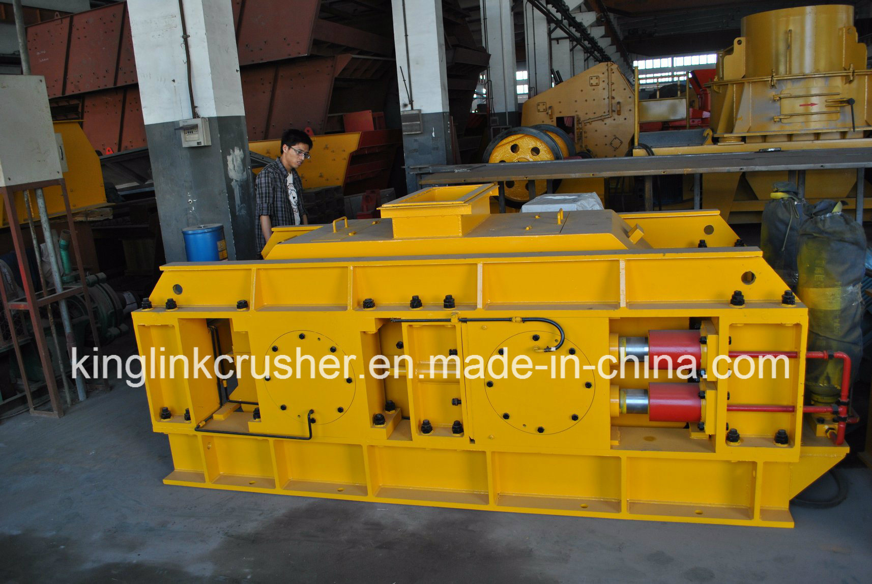Double Roller Sizing Crusher for Coal and Others Ore Stone Crushing