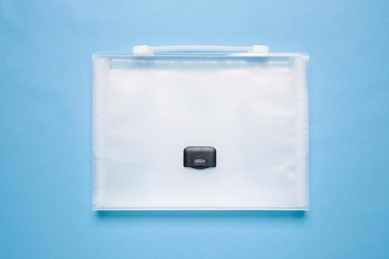Fashion Plastic A4 Office Stationery File Folder/ Expanding File
