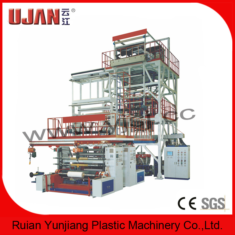 Three-Layer Common-Extruding Film Blowing Machine