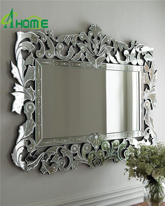 Modern New Framed Home Decorative Wall Rectangle Venetian Mirror