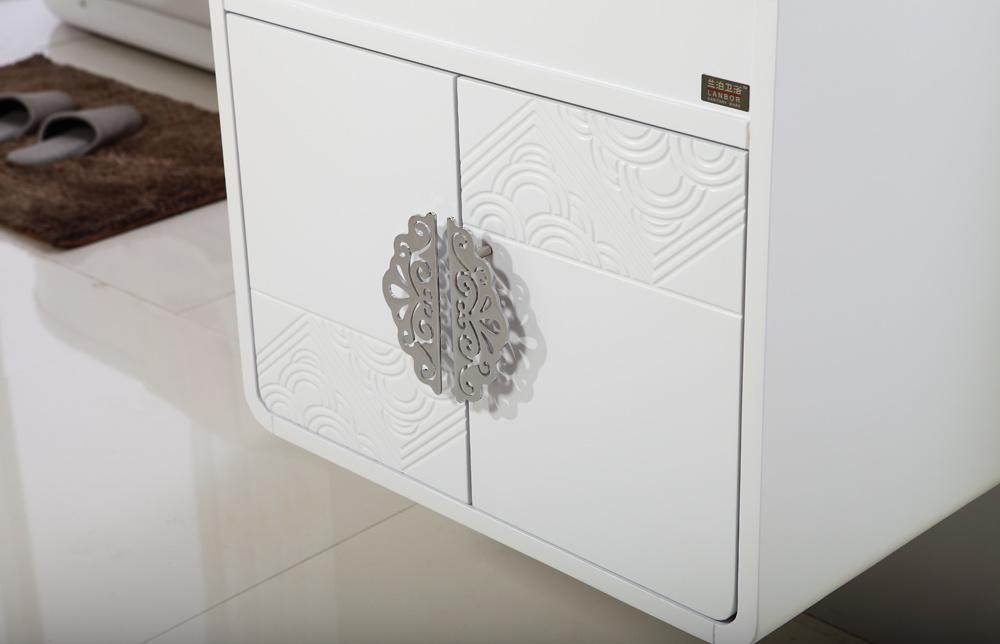 Hot Selling Sanitary Ware MDF Bathroom Furniture Vanity