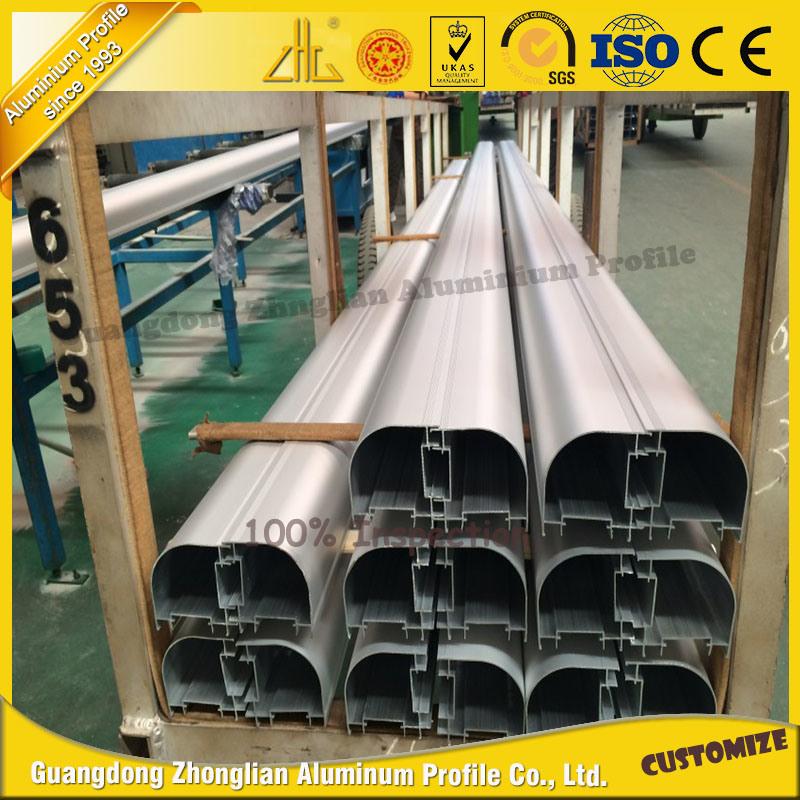 High Quality Customized Aluminium Tube Corner Aluminum Pipe