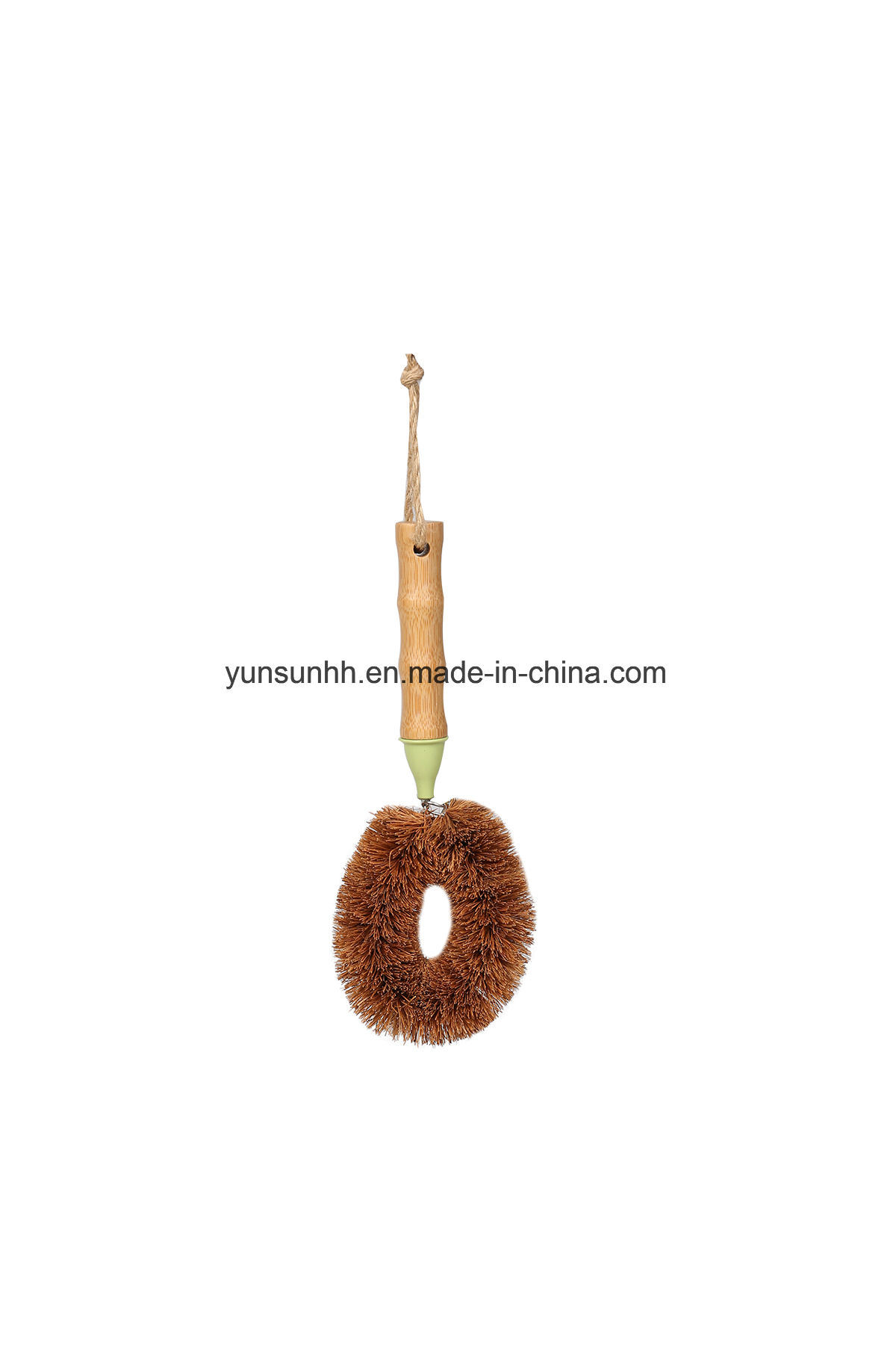 Pan/Palm Brush with Bamboo Handle