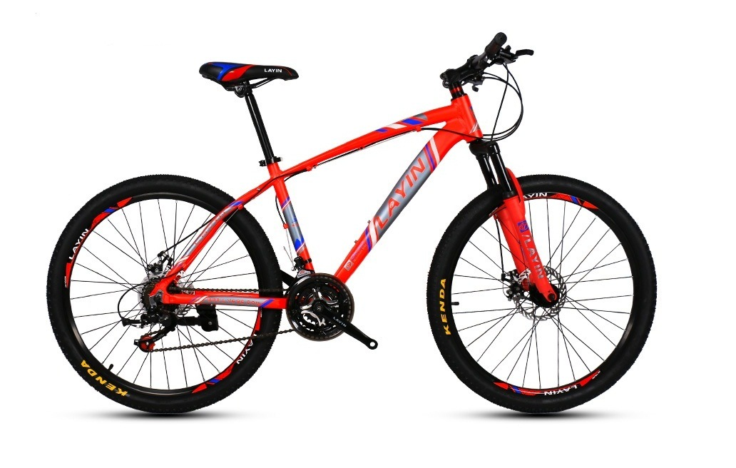"24""/26""/27.5"" 21-Speed with Shimano Shifter&Derailleur Aluminum Alloy Mountain Bike"