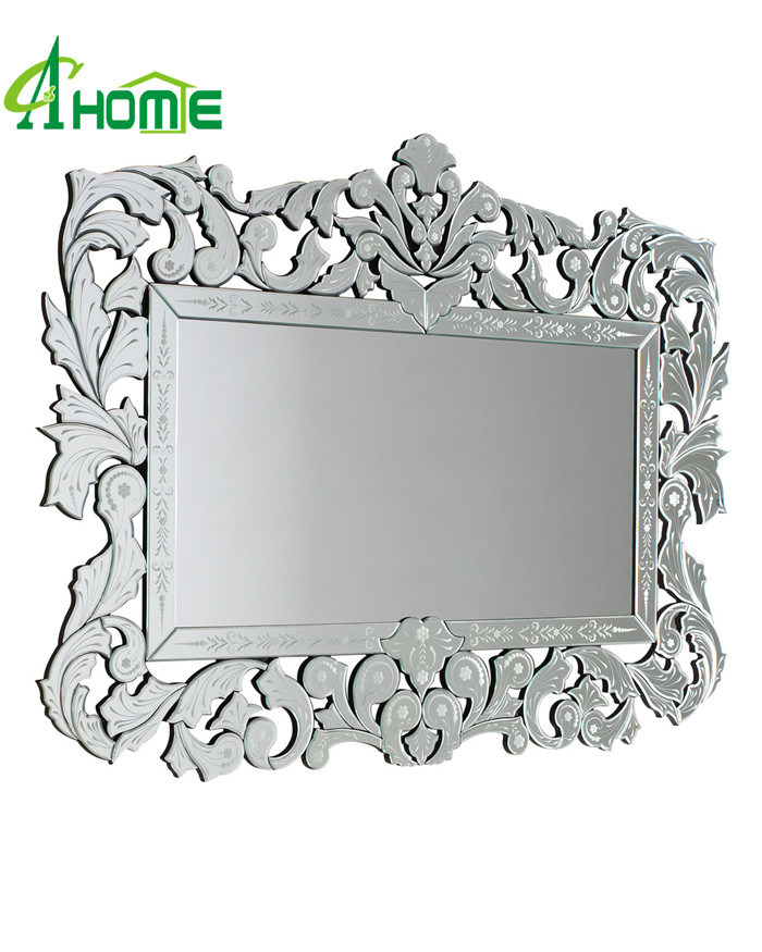 Modern New Framed Home Decorative Wall Rectangle Venetian Mirror