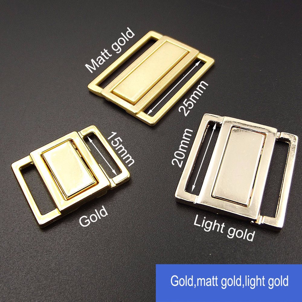10mm Underwear Shining Gold Buckle Clip