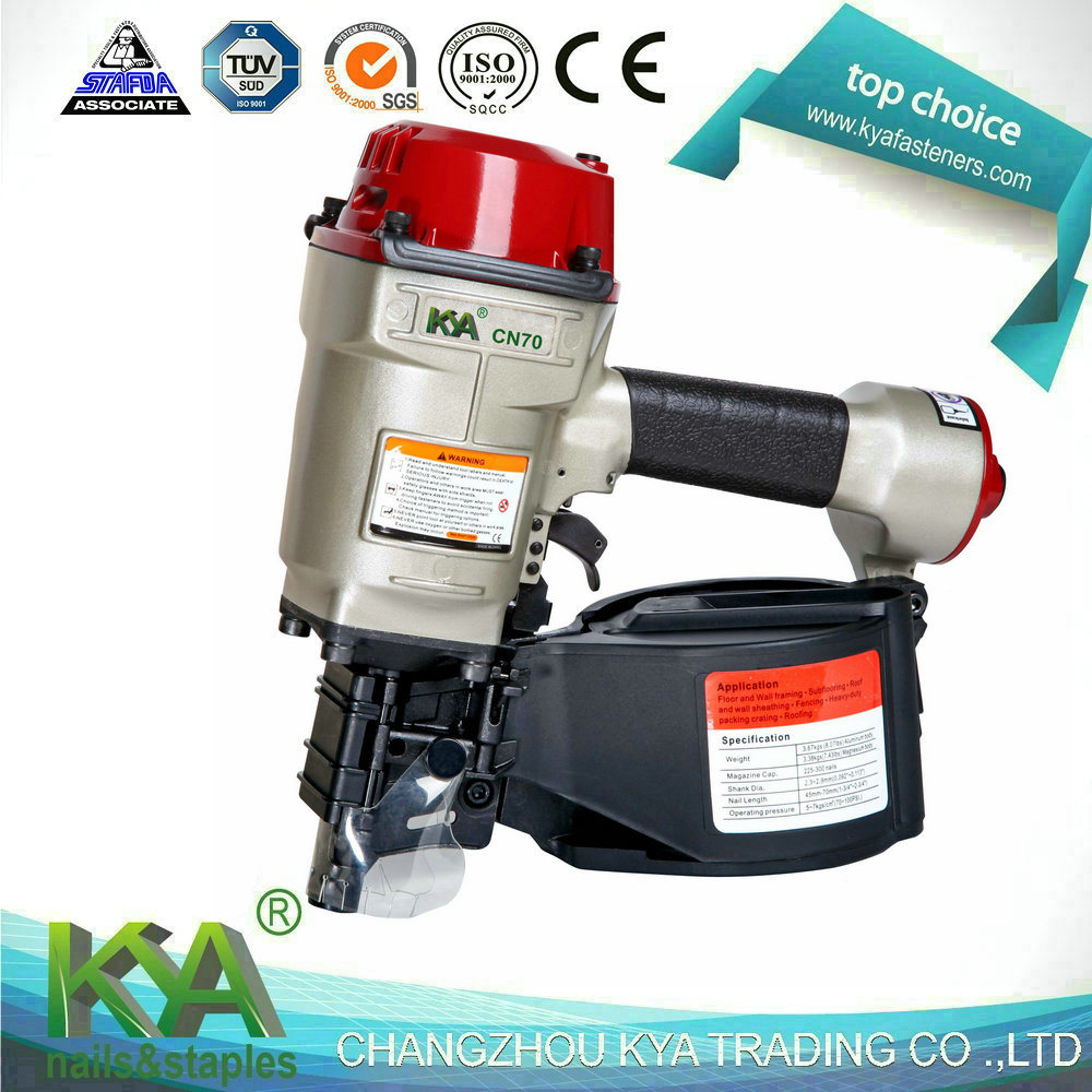 Cn70 Pneumatic Wire Collated Coil Nailer