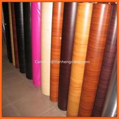 PVC Wooden Grain PVC Laminating Film for Window & Door Profile