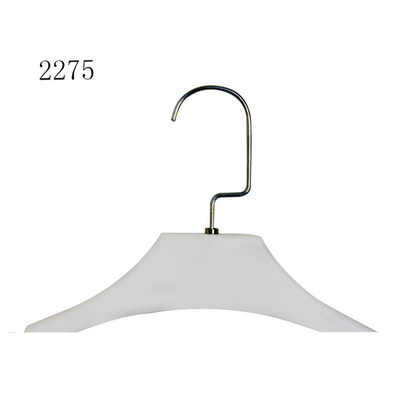 Brand Fashion Shop Display Custom Female Dress Plastic Top Hanger