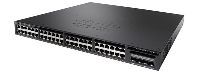 New Cisco 48 Port Poe Gigabit Network Switch (WS-C3650-48PS-E)