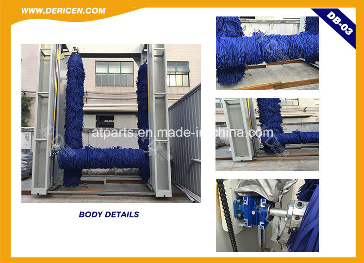 Dericen dB3 Automatic Bus and Truck Car Washing Machine with Reliable Quality