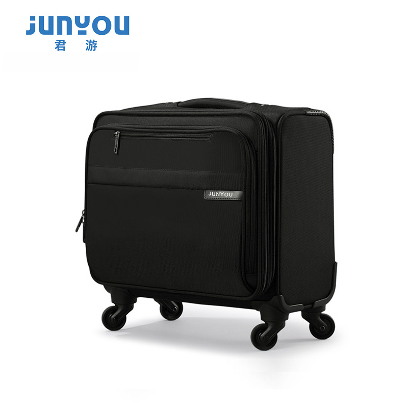 New Style Nylon Boarding 16 Inch Small Nylon Travel Luggage