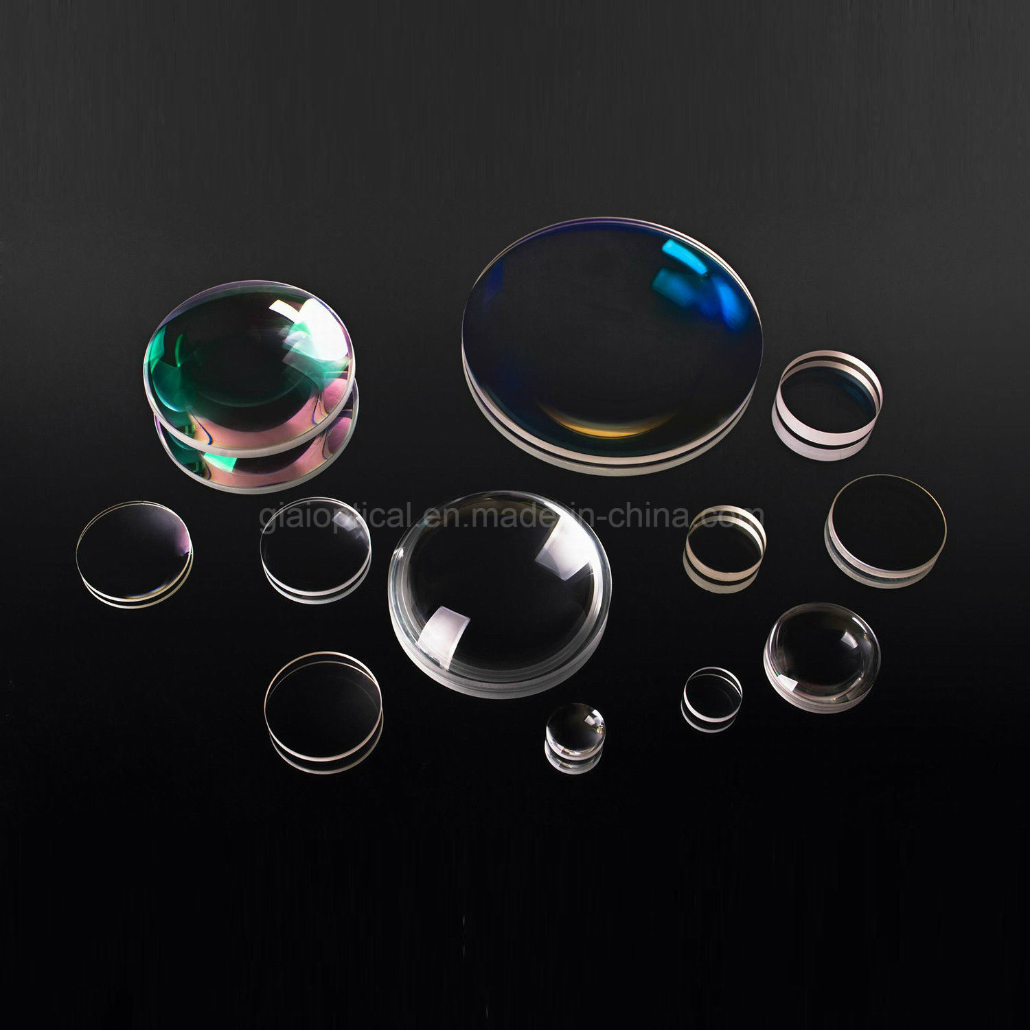 Giai Customize Coated Plano Convex Biconcave Biconvex Optical Lens Prototype